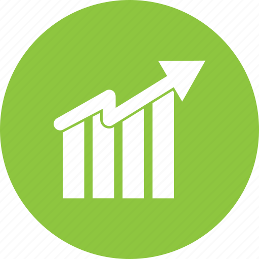 chart, financial, graph, growth, profit, revenue, sale icon