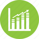 exchange, growth, statistics icon