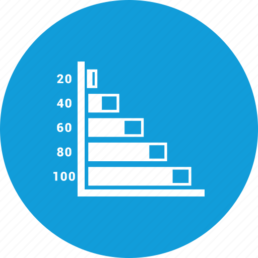 analysis, graph, levels, report icon