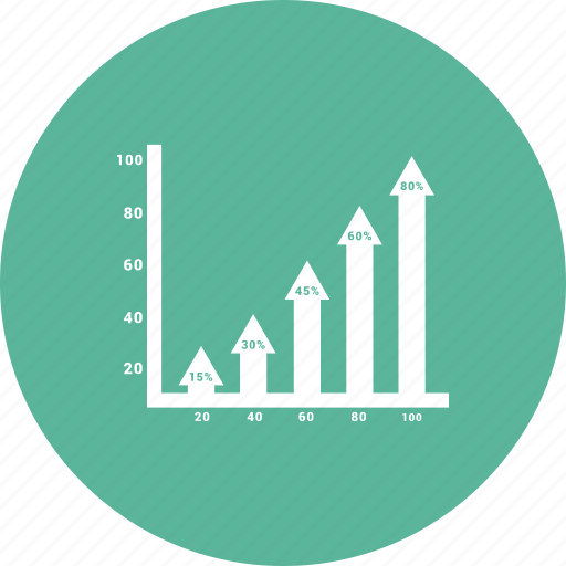 business graph, business growth, graph, growth chart icon icon