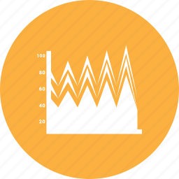 analytics, chart, finance, graph, growth, sales, statistics icon