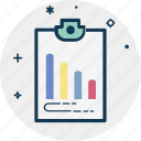 analytics, graph report, growth chart, line graph, report, statistics icon