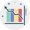bar chart, bar graph, business evaluation, financial chart, graphic, statistics icon