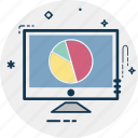 analytics, computer, diagram, infographics, online graph, web analytics icon