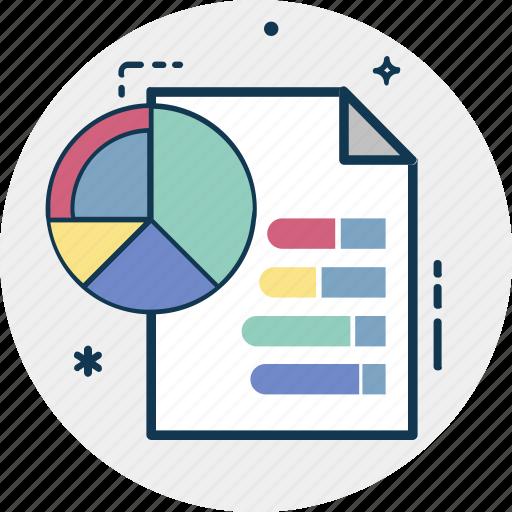 Analytics, Bar Graph, Graph Report, Horizontal Graph, Line