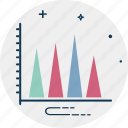 business analytics, business reporting, profit and loss, statistical analysis, ups and downs icon