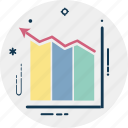 bar chart, bar graph, financial chart, graphic, statistics icon
