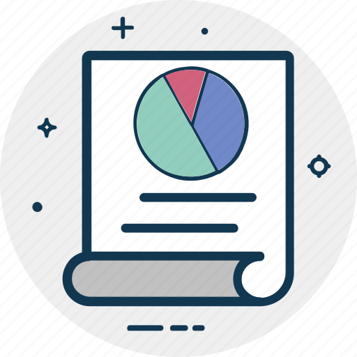 analytics, bar graph, business report, graph report, pie graph, report icon