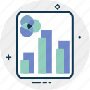 analytics, business chart, business graph, growth chart, infographic, statistics icon