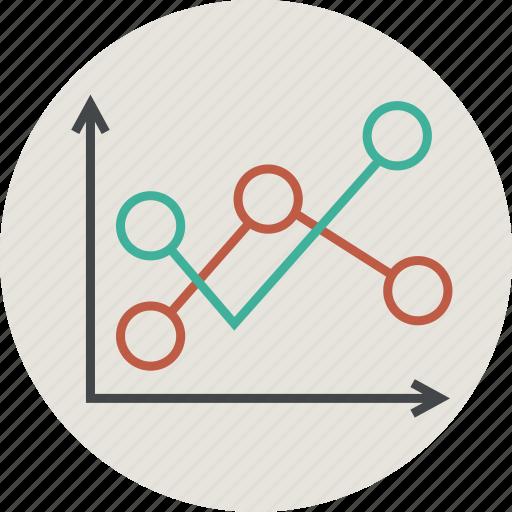 analytics, chart, circle, computer, diagram, graph, sales, statistic, statistics icon