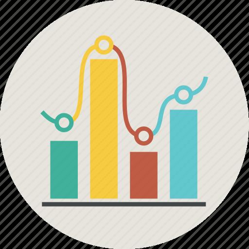 analytics, chart, circle, computer, diagram, finance, graph, sales, statistic, statistics icon