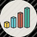 analytics, bar, bargraph, business, chart, diagram, finance, graph, line, statistic icon