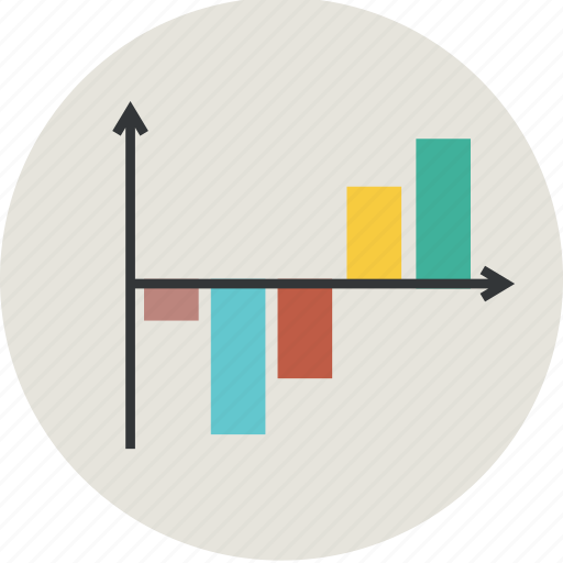 analytics, bar, bargraph, business, chart, diagram, finavce, graph, line, statistic icon