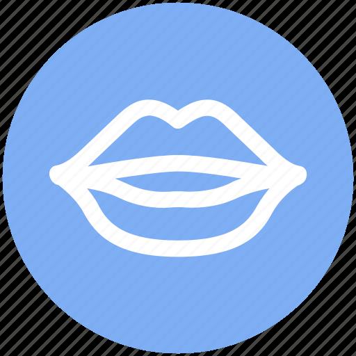 emotion, kiss, lips, lipstick, mouth, smile, smiley icon
