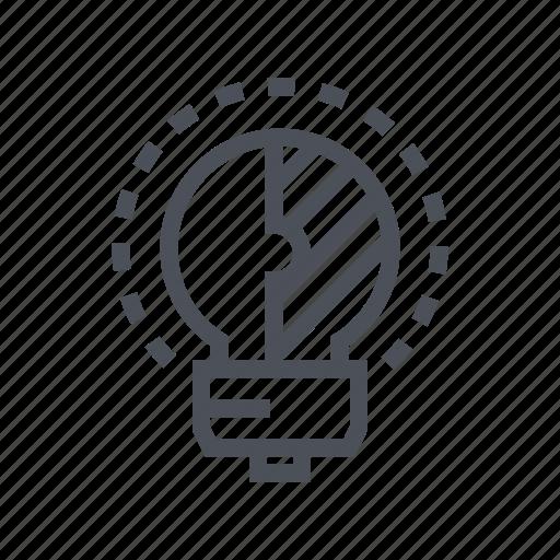 creative, design, idea, solution, tool icon
