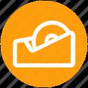 desk, equipment, graphic, office, repair, tape icon