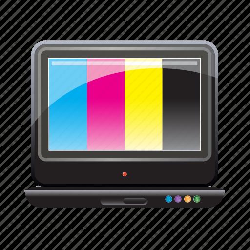 cmyk, color, colors, comp, palette icon