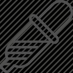 design, dropper, equipment, graphic, pipet, pipette icon, tool icon