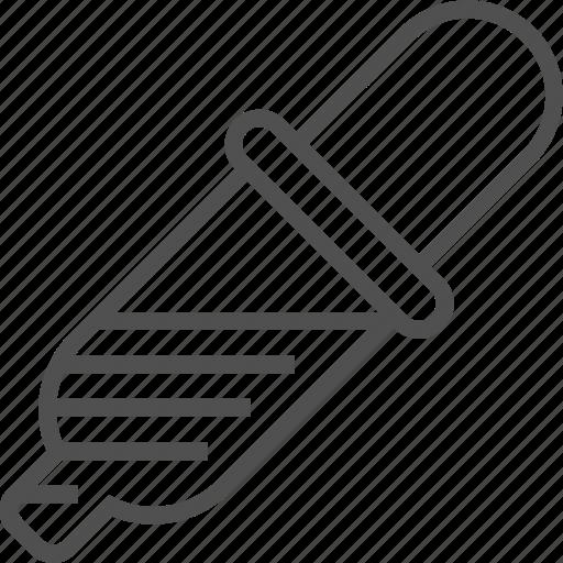 design, dropper, equipment, pipet, pipette icon icon