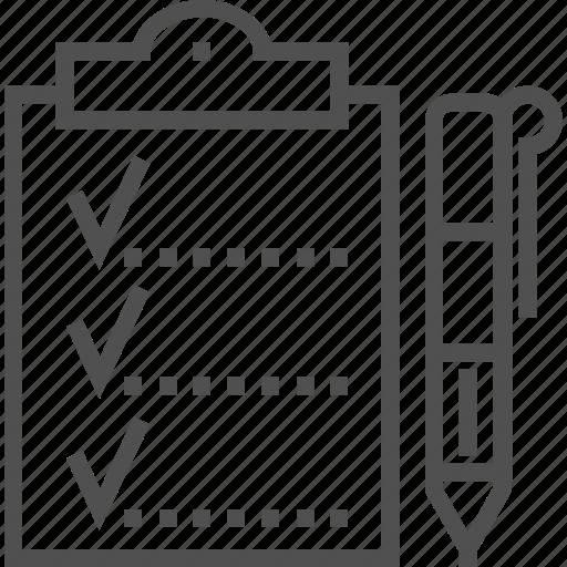 brief, clipboard, data, design, office icon icon