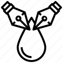 blur, drop, drip, trickle, droplet, graphic, graphic design