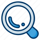 loupe, search, zoom, glass, quest, magnifier, magnifying glass