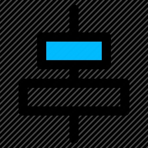 align, align center, horizontal align center, middle icon