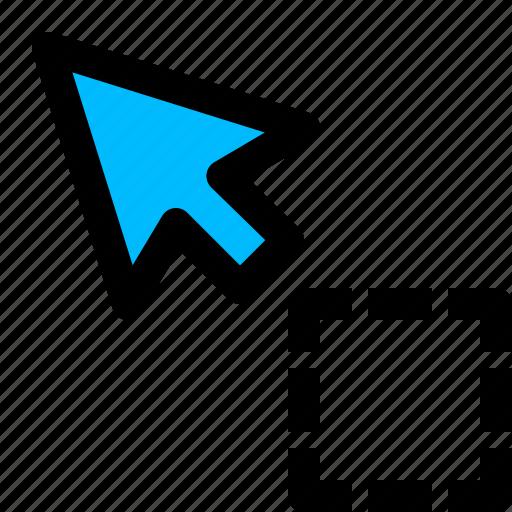 cursor, pointer, selection, tool icon