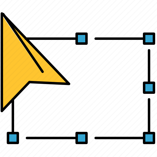 design, free, graphic, pointer, tools, transform icon