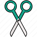 scissor, design, graphic, cut, tools icon