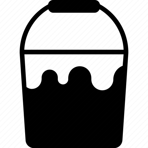 bucket, design, graphic, paint, paintbucket, tools icon