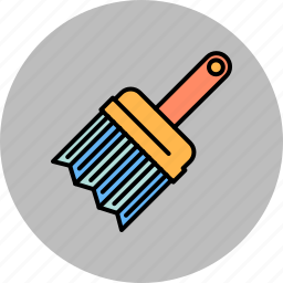brush, design, graphic, paint, tools icon