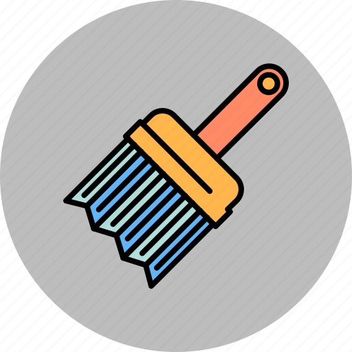 brush, design, graphic, paint, tools icon