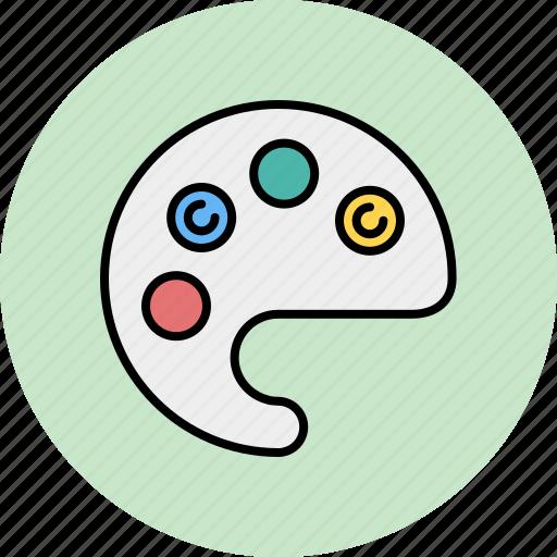 color, design, graphic, palette, tools icon