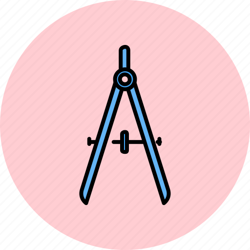compass, design, geometry, graphic, measure, tools icon