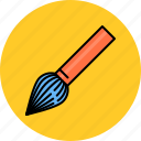 brush, design, graphic, paint, paintbrush, tools icon