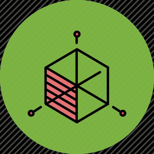 box, design, graphic, resize, square, tools icon