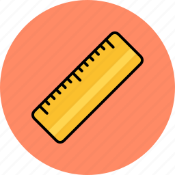 design, graphic, measure, ruler, tools icon