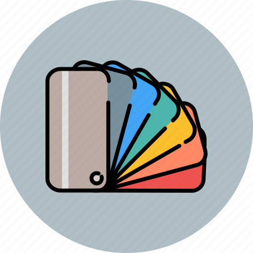color, design, graphic, swatches, tools icon