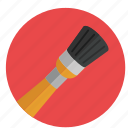 brush, color, design, graphic, painting, round, tool, tools icon