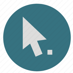 arrow, design, direct, graphic, move, path, pointer, round, select, selection, tool icon