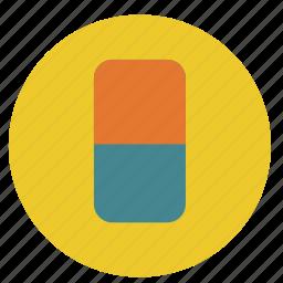 background, clear, delete, design, erase, eraser, graphic, magic, round, tool, tools icon