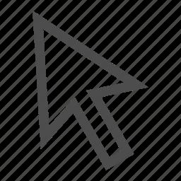 arrow, graphic, oyps, pointer, tool icon