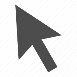 arrow, click, pointer, up icon