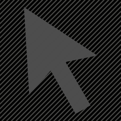 arrow, click, pointer, up icon