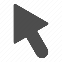 arrow, pointer, selection, up icon