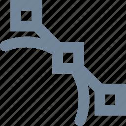 design, file, graphic, line, type icon