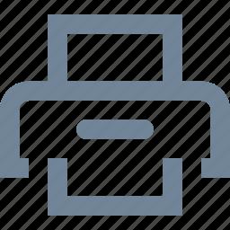 design, document, file, graphic, print, printer icon