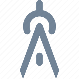 compass, design, drawing, graphic icon