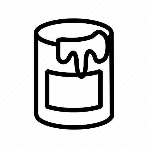 bucket, paint, photoedit, tool icon